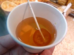 キンカンショウガ紅茶P1050527