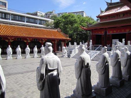 a孔子廟72賢人石像