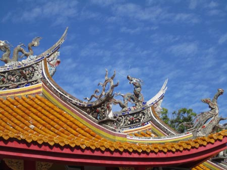 a孔子廟儀門屋根1