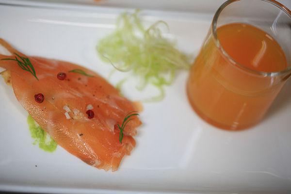 salmon-gravelax