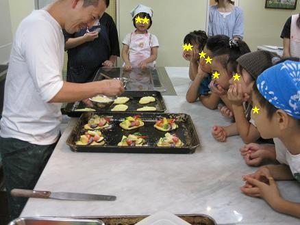 夏休みこどもパン教室2010