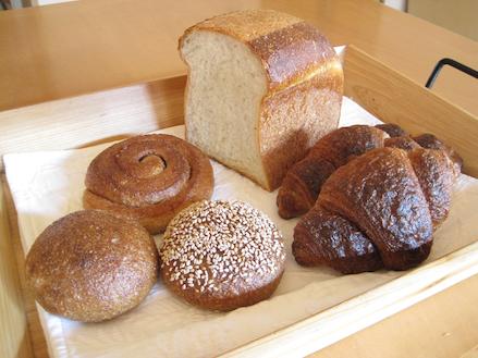 ベッカライ・ビオブロートのパン2010.11.6