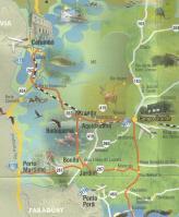 マットグロッソドスール州マップ