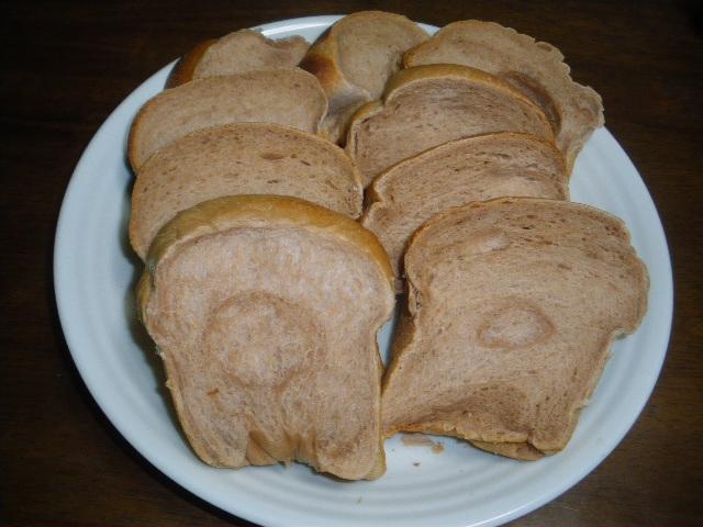 湯だねのココア食パン