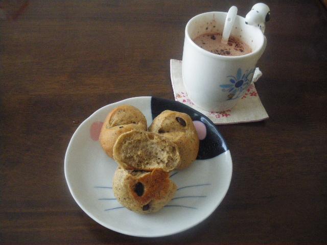 レーズンの紅茶パン2
