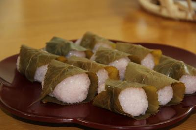 道明寺桜餅400