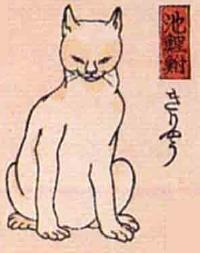 40★池鯉鮒(ちりゅう)→きりゃう(器量のよい猫)
