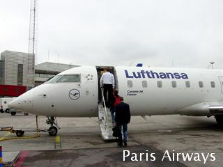 ルフトハンザ CRJ アーランダ国際空港