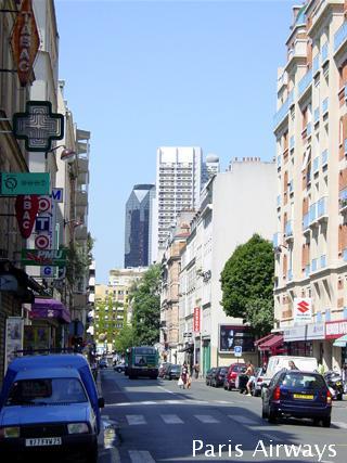 パリ 15区 Rue des Entrepreneurs