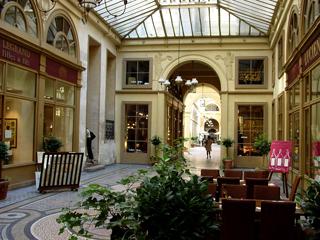 パリ パッサージュ Galerie Vivienne