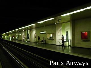 パリ メトロ Louvre Rivoli