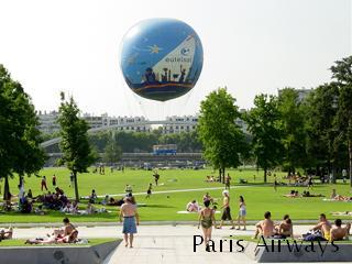 アンドレシトロエン公園 気球