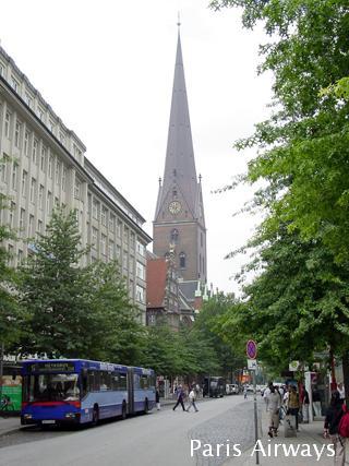 ハンブルグ メンケベルク通り 聖ヤコビ教会