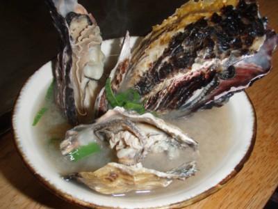 牡蠣のおみそしる