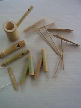 竹のおもちゃ