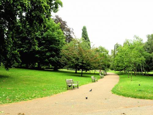 市民の憩いの場 ハイドパーク