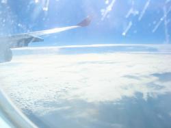 機上の風景1