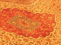 カラー絨毯