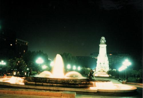 スペイン広場の夜