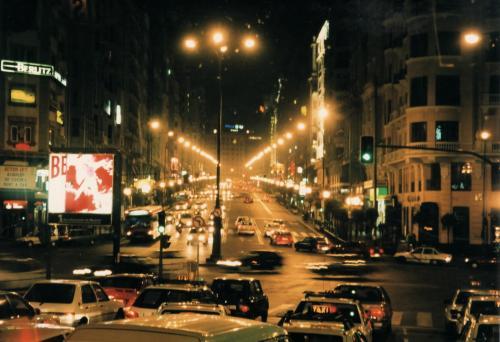 マドリードの夜