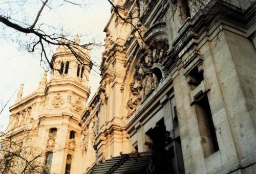 マドリードの街