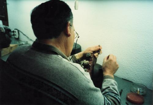 トレドの象眼細工