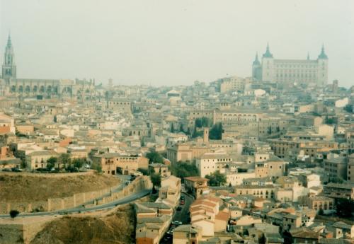 トレドの街