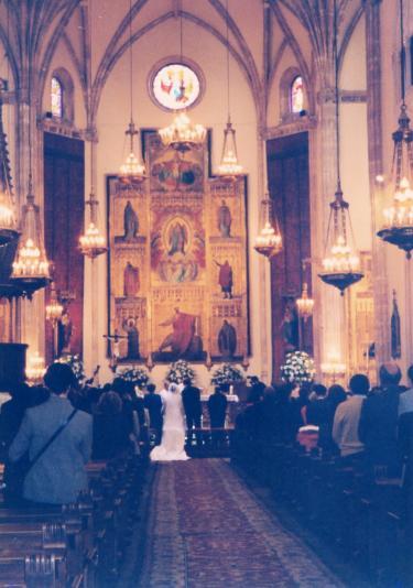 マドリードの結婚式
