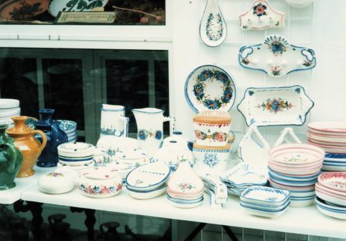 素焼きの陶器