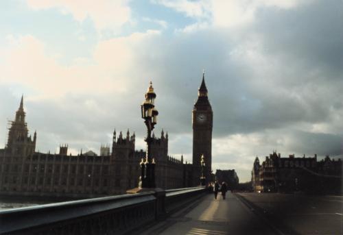 国会議事堂とウエストミンスター橋