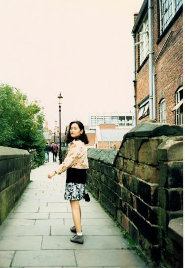 チェスター城壁を歩く
