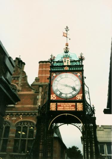 チェスターの時計