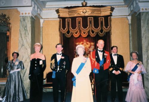 英国王室蝋人形