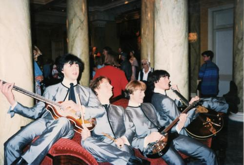 ビートルズ蝋人形