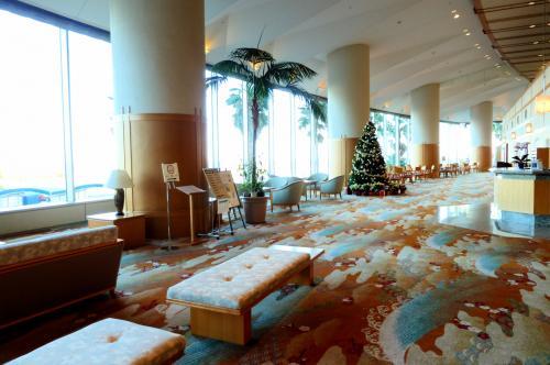 ホテル後楽園のロビー