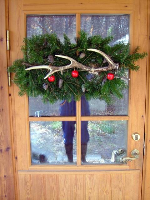 もみの木リース ドア
