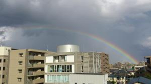 虹が出たぞ~