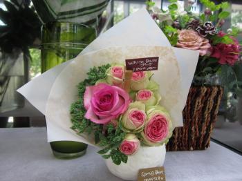 すてきな薔薇の花束