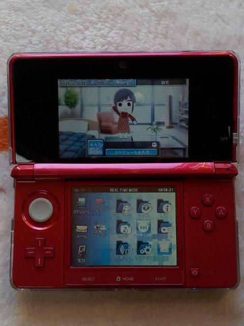 任天堂3DS レッド