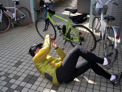 観音駅で転んだ!