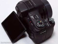 SONYサイバーショットDSC-HX100V液晶画面