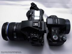 SONYサイバーショットDSC-HX100VとOLYMPUS E-5