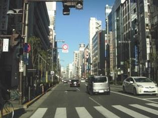 2012.1.29外堀通り【銀座スタート】