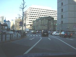 2012.1.29外堀通り5【日銀】