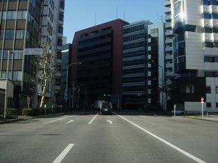 2012.1.29外堀通り6【竜閑橋】