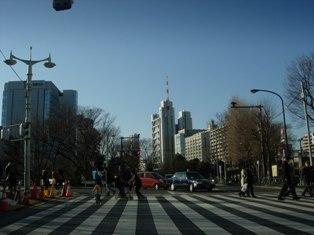 2012.1.29外堀通り12【御茶ノ水】