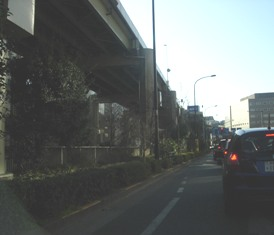 2012.1.29外堀通り14【飯田橋手前】