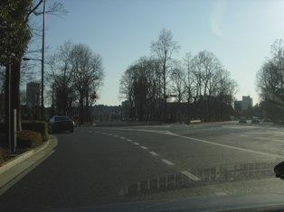 2012.1.29外堀通り19【迎賓館】