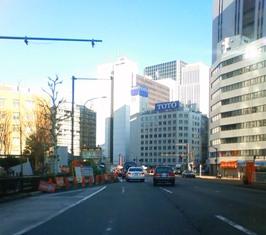2012.1.29外堀通り22【虎ノ門】