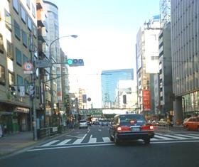 2012.1.29外堀通り25【新橋二丁目】